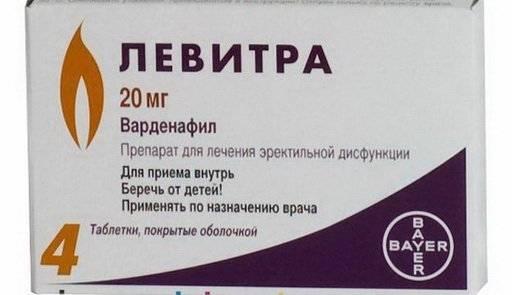 Передозировка Дженерик Левитрой