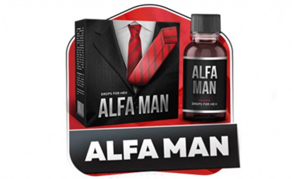 Капли AlfaMan