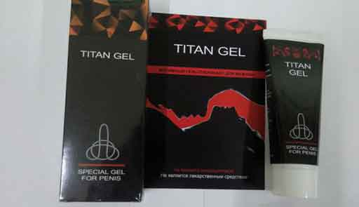 Original Titan Gel pack gold